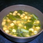 garbanzos sopa
